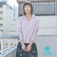 【earth music & ecology】定番棉質連帽外套(Y0181D30000)
