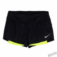 【NIKE】NIKE 女 AS W NK FLX 2IN1 SHORT RIVAL 運動短褲 - 831553010