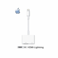【神腦貨 盒裝】Apple Lightning Digital AV 原廠轉接器 HDMI 傳輸線 iPhone 5 5c 5s SE 6 6S 7 8 Plus X iPod touch