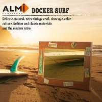 ALMI-DOCKER SURF- MIRROR 50x70 造型掛鏡