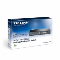 TP-LINK TL-SF1016DS 16Ports 10/100 網路交換器 Switch
