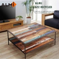 ALMI SYZ RECYCLED~ 2 LEVELS 100X100 咖啡桌