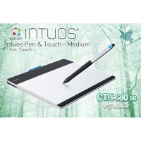 Wacom Intuos Pen   Touch CTH~680 S2~C 6X9 繪圖板