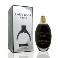 Lady Gaga Fame Black Fluid Eau de Parfum Spray 超人氣女性淡香精 100ml Tester 包裝