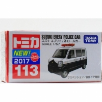 TOMICA【TM113 SUZUKI EVERY POLICE CAR -86006】