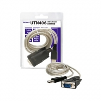 Uptech UTN406 USB to RS-232訊號轉換器 1.3M