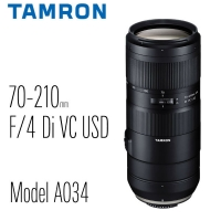 【南紡購物中心】TAMRON 70-210mm F/4 Di VC USD Model A034 [公司貨](Tamron 騰龍)