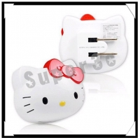 新竹【超人3C】Hello Kitty iCharger AC 轉 USB 充電器KT-CR01