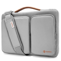 【美國代購】Tomtoc 360° 防摔保護 Laptop Sleeve Case for MacBook/Surface Pro/NB/Tablet-淺灰色