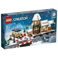 LEGO 樂高 Creator Expert Winter Village Station 10259 (902 Piece)