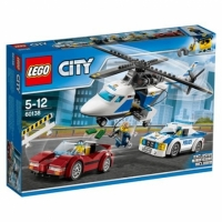 LEGO 樂高 City Police High-speed Chase 60138 Building Toy