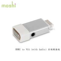 【A Shop】Moshi HDMI to VGA (with Audio) 音頻轉接線 Apple TV