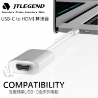 【A Shop】JTLEGEND Quickie USB-C to HDMI 轉接器 4K