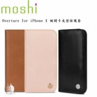 【A Shop】Moshi Overture for iPhone X 側開卡夾型保護套