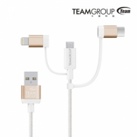 【番茄店鋪】TEAM WC0C 3 IN 1 Lightning/Type C/Micro USB 傳輸充電線
