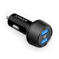 【番茄店鋪】Anker PowerDrive Speed 2 智慧型雙孔高速車充 QC 3.0 + PowerIQ