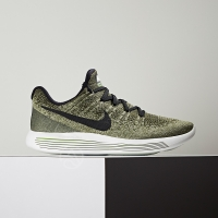 【NIKE】LUNAREPIC LOW FLYKNIT 2 男鞋 慢跑 休閒 編織 軍綠  863779-300  AquaFeb